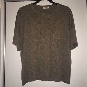 Ginger G Taupe Gray Knit T-shirt